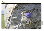 The Purple Heart Award Hangs Carry-all Pouch