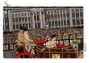 The Royal Nude Wedding Carry-all Pouch by Karen Elzinga
