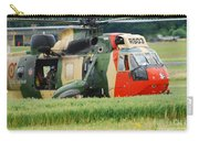 The Sea King Helicopter Of The Belgian Carry-all Pouch by Luc De Jaeger