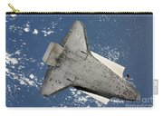 The Underside Of Space Shuttle Carry-all Pouch