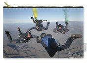 The U.s. Navy Parachute Demonstration Carry-all Pouch