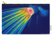Thermogram Of A Shower Head Carry-all Pouch by Ted Kinsman