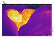 Thermogram Of A Sleeping Girl Carry-all Pouch