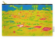 Thermogram Of Cars In A Parking Lot Carry-all Pouch