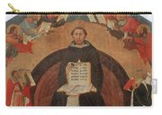 Thomas Aquinas, Italian Philosopher Carry-all Pouch by Photo Researchers