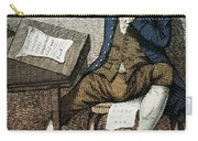 Thomas Paine, American Founding Father Carry-all Pouch by Photo Researchers