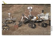 Three Generations Of Mars Rovers Carry-all Pouch