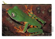 Tiger-striped Monkey Frog Carry-all Pouch