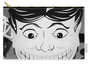Tillie The Clown Of Coney Island In Black And White Carry-all Pouch