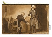 Treason Of Benedict Arnold, 1780 Carry-all Pouch by Photo Researchers