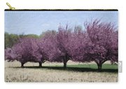 Trees On Warwick Carry-all Pouch by Trish Tritz