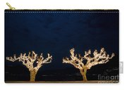 Trees With Lights Carry-all Pouch