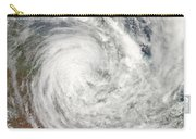 Tropical Cyclone Yasi Over Australia Carry-all Pouch