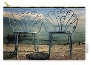 Two Chairs Carry-all Pouch by Joana Kruse