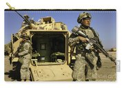 U.s. Army Soldiers Provide Security Carry-all Pouch