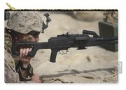 U.s. Marine Prepares To Fire A Pk Carry-all Pouch