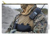 U.s. Marine Provides Security Carry-all Pouch