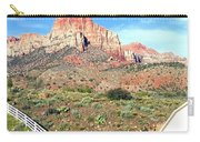 Utah Cactus Field Carry-all Pouch