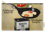 Vegetable Oil Ad, 1918 Carry-all Pouch