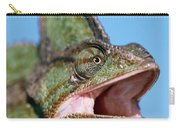 Veiled Chameleon Chamaeleo Calyptratus Carry-all Pouch by Ingo Arndt