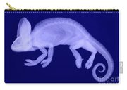 Veiled Chameleon X-ray Carry-all Pouch