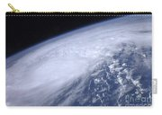 View From Space Of Hurricane Irene Carry-all Pouch