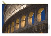 View Of The Roman Coliseum In Rome Carry-all Pouch