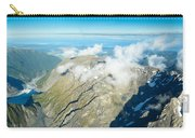 View On To Fox Glacier In South New Zealand Carry-all Pouch