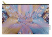 Vintage Lily Carry-all Pouch