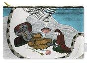 Vishnu And Lakshmi Carry-all Pouch