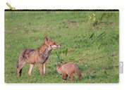 Vixen And Cub Carry-all Pouch
