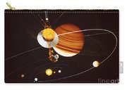 Voyager Saturn Flyby Artwork Carry-all Pouch