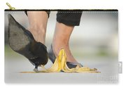 Walking On Banana Peel Carry-all Pouch