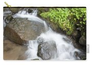 Water Cascading Over Rocks, Mount Hood Carry-all Pouch