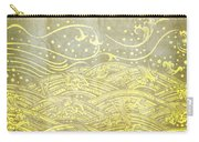 Water Pattern On Old Paper Carry-all Pouch by Setsiri Silapasuwanchai