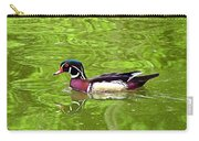 Water Wood Duck Carry-all Pouch
