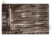 Weathered Wall In Bodie Ghost Town Carry-all Pouch