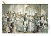 Wedding Of Queen Victoria Carry-all Pouch