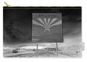 Welcome Sign Carry-all Pouch by David Lee Thompson