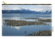 Western Sandpiper Calidris Mauri Flock Carry-all Pouch