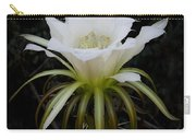 White Echinopsis Flower  Carry-all Pouch