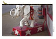 White Elephant Carry-all Pouch
