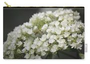 White Hydrangea Bloom Carry-all Pouch