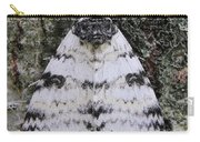White Underwing Moth Carry-all Pouch