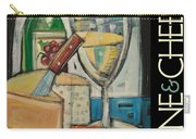 White Wine And Cheese Poster Carry-all Pouch