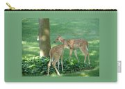 Whitetail Fawns Carry-all Pouch