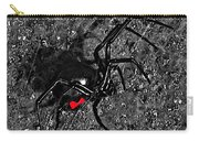 Wicked Widow - Selective Color Carry-all Pouch