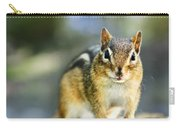 Wild Chipmunk Carry-all Pouch