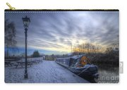 Winter At The Boat Inn Carry-all Pouch