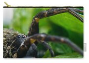 Wolf Spider And Babies 2 Carry-all Pouch